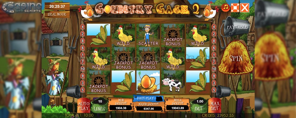 country cash 2 slot game