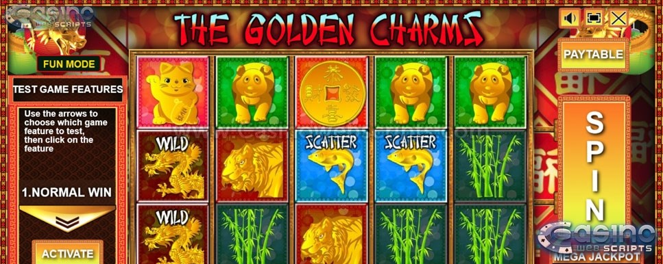 The Golden Charms mobile