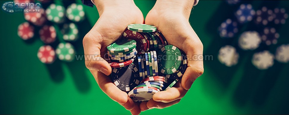 casino chips hands