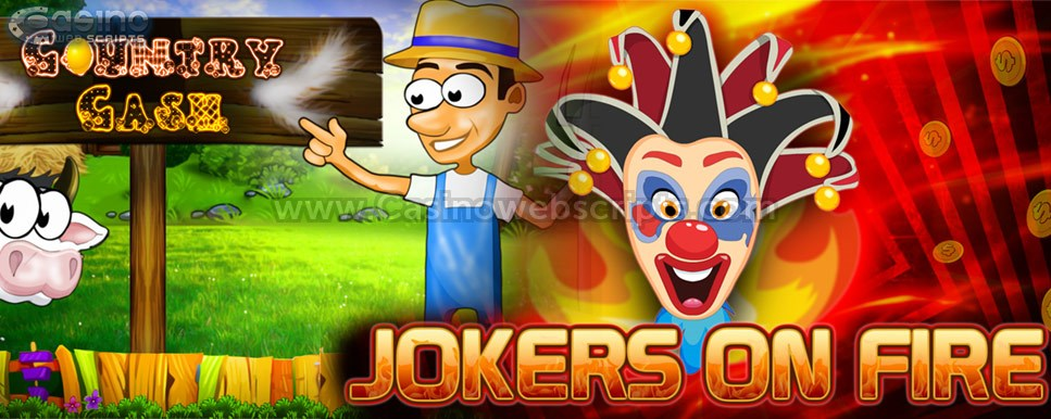 new slot games by casinowebscripts