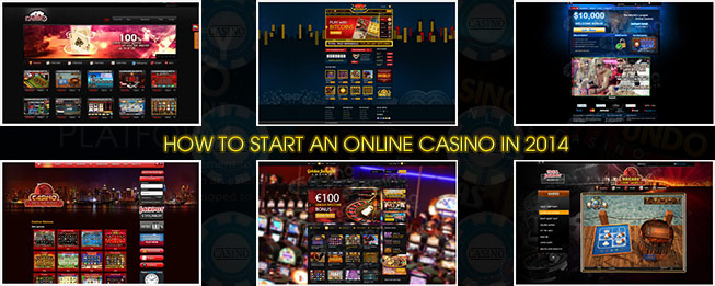 start an online casino
