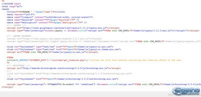Software preview Edit HTML PHP code