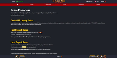 Software preview Casino Promotions