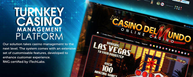Turnkey Casino software
