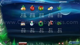 A Christmas Slot Preview Pic Symbols Paytable 2