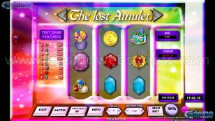 The Lost Amulet 3RS Preview Pic Main Screen 1