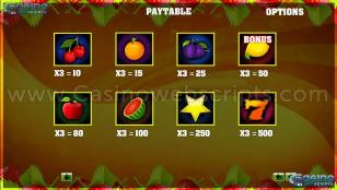 Classic Fruit Slot Preview Pic 2