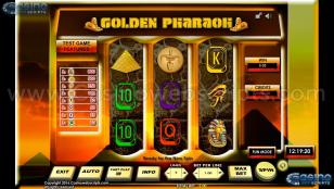 Golden Pharaoh 3RS Preview Pic Main Screen 1
