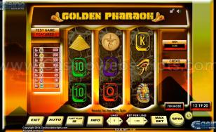 Golden Pharaoh 3RS