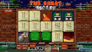 The Great Escape Preview Pic  Main Screen 1