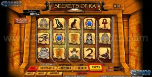 Secrets of Ra Preview Pic  Main Screen 1