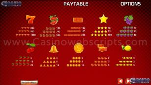 Mega Joker Jackpot Preview Pic Symbols Paytable 2