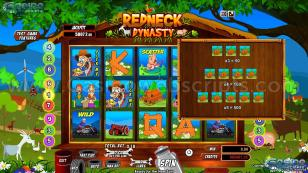 Redneck Dynasty Preview Pic  Symbols Paytable 2