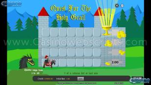 Quest for the Holy Grail Hi Lo Preview Pic Main Screen 1