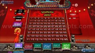 Shanghai Keno 80 Preview Pic Main Screen 1