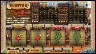Wanted MultiSpin Slot Preview Pic 2