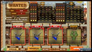 Wanted MultiSpin Slot Preview Pic 4