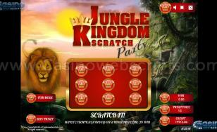 Jungle Kingdom Scratch Party