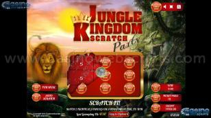 Jungle Kingdom Scratch Party Preview Pic 2