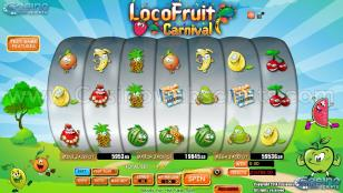 Loco Fruit Carnival Preview Pic Main Screen 1