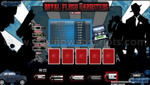 Royal Flush Gangster Preview Pic Main Screen 1