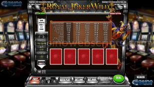 Royal Joker Wild Preview Pic Main Screen 1