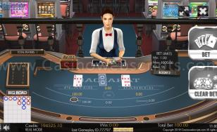 Multiplayer Baccarat 3D Dealer Scoreboards Mobile and PC