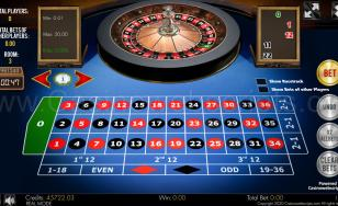 Multiplayer European Roulette 3D Advanced - HTML5 Mobile and PC