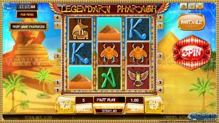 Legendary Pharaoh HT Preview Pic Main Screen 1