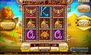 Legendary Pharaoh HTML5 Slot