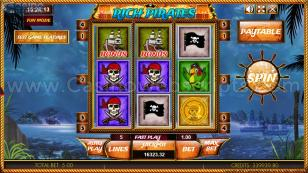 Rich Pirates HTML5 Mobile and PC Preview Pic Main Screen 1