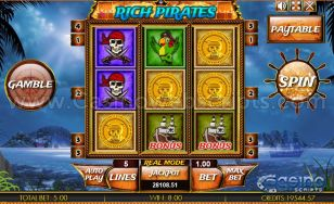 Rich Pirates HTML5 Slot