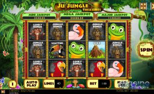 Ju Jungle Treasures Mobile and PC