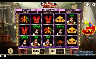 The Three Musketeers HTML5 Mobile and PC