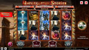 Unforgotten Stories HTML5 Mobile and PC Preview Pic Main Screen 1