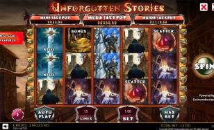 Unforgotten Stories HTML5 Mobile and PC