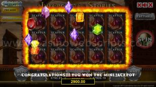 Unforgotten Stories HTML5 Mobile and PC Preview Pic Jackpot Screen 24