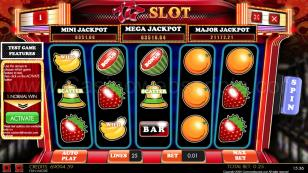 777 SLOT HTML5 Mobile and PC Preview Pic Main Screen 1