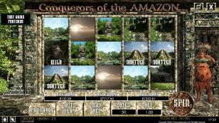 Conquerors of the Amazon HTML5 Mobile and PC Preview Pic Main Screen 1