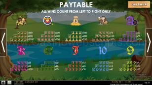 Archer of SlotWood Mobile and PC Preview Pic Symbols Paytable 2