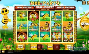 Bee Party HTML5 Slot