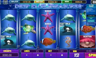Deep Blue Treasures HTML5 Mobile and PC