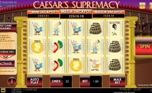 Caesar Supremacy HTML5 Mobile and PC