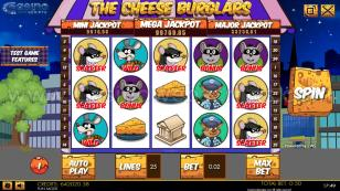 Cheese Burglars HTML Preview Pic Main Screen 1