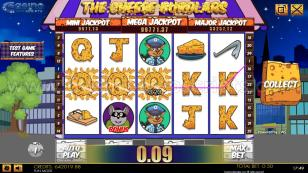 Cheese Burglars HTML5 Mobile and PC Preview Pic Symbols Paytable 2