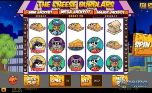 Cheese Burglars HTML5 Slot