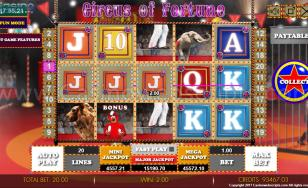 Circus of Fortune HTML5 Mobile and PC