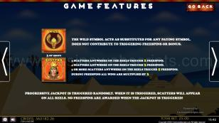Cleopatra's Ancient Treasure Mobile and PC Preview Pic Paytable Page 3