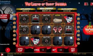 The Legend of Count Dracula HTML5 Mobile and PC