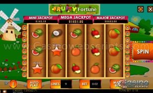 Fruity Fortune Deluxe HTML5 Mobile and PC
